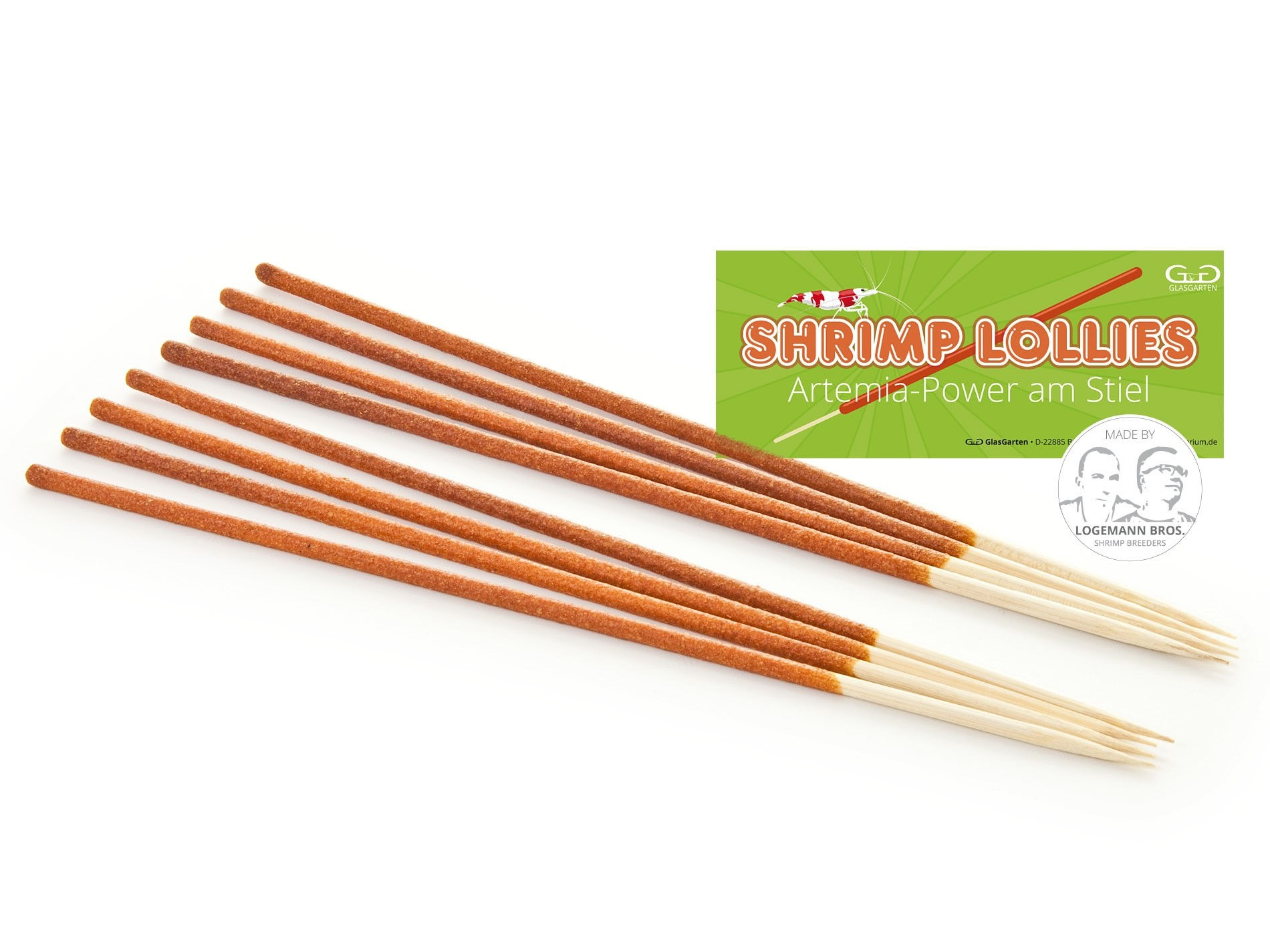 Shrimp Lollies - Artemia Power - GlasGarten