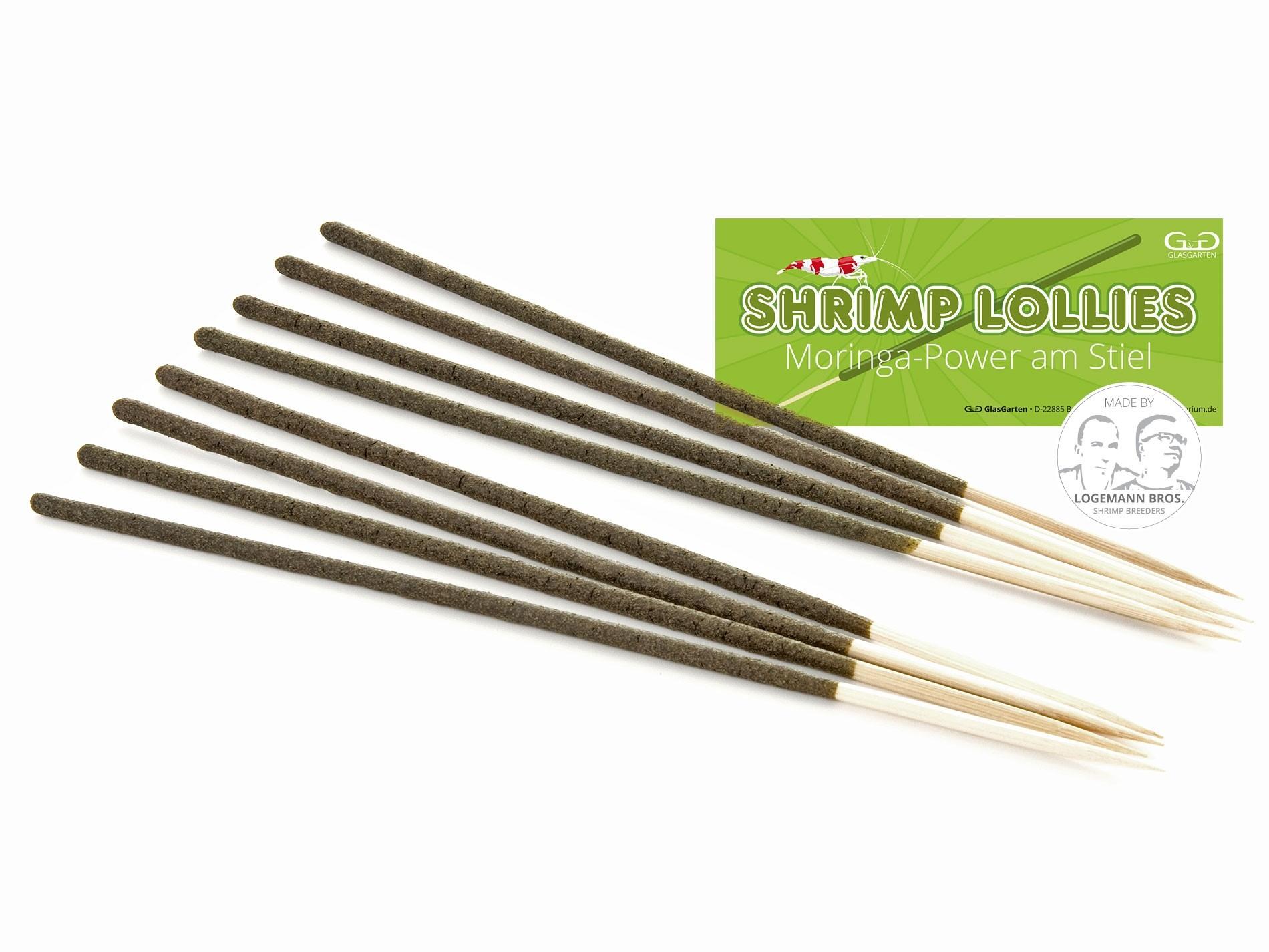 Shrimp Lollies - Moringa Power - GlasGarten