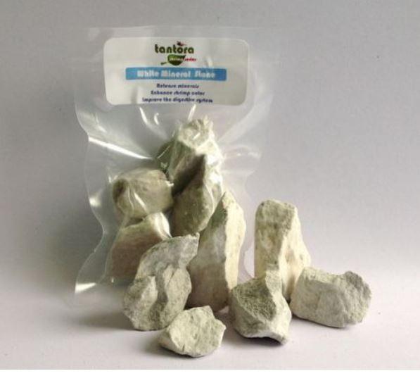White  Mineral Stone - Tantora Nature